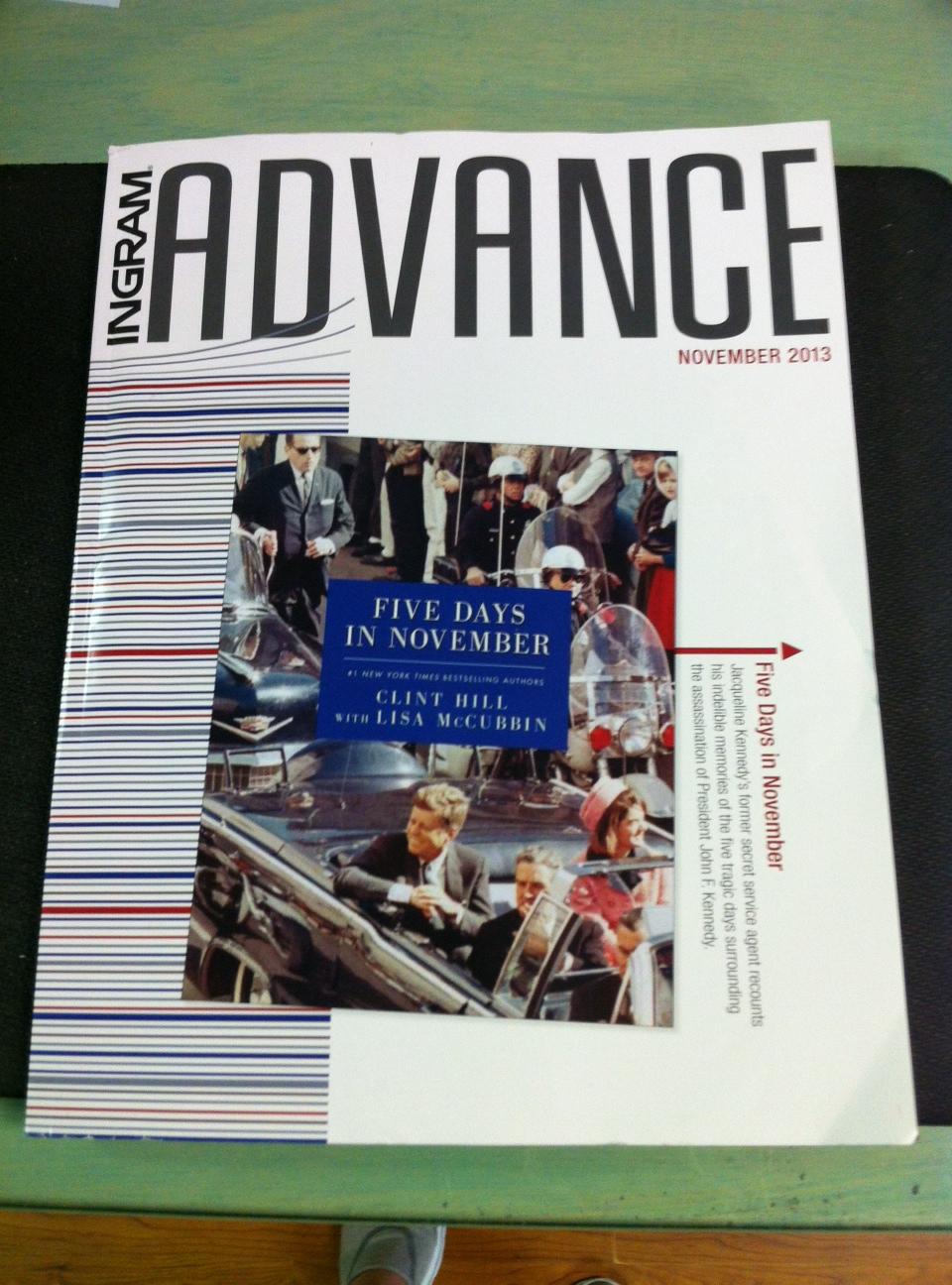 Advance Magazine Cover