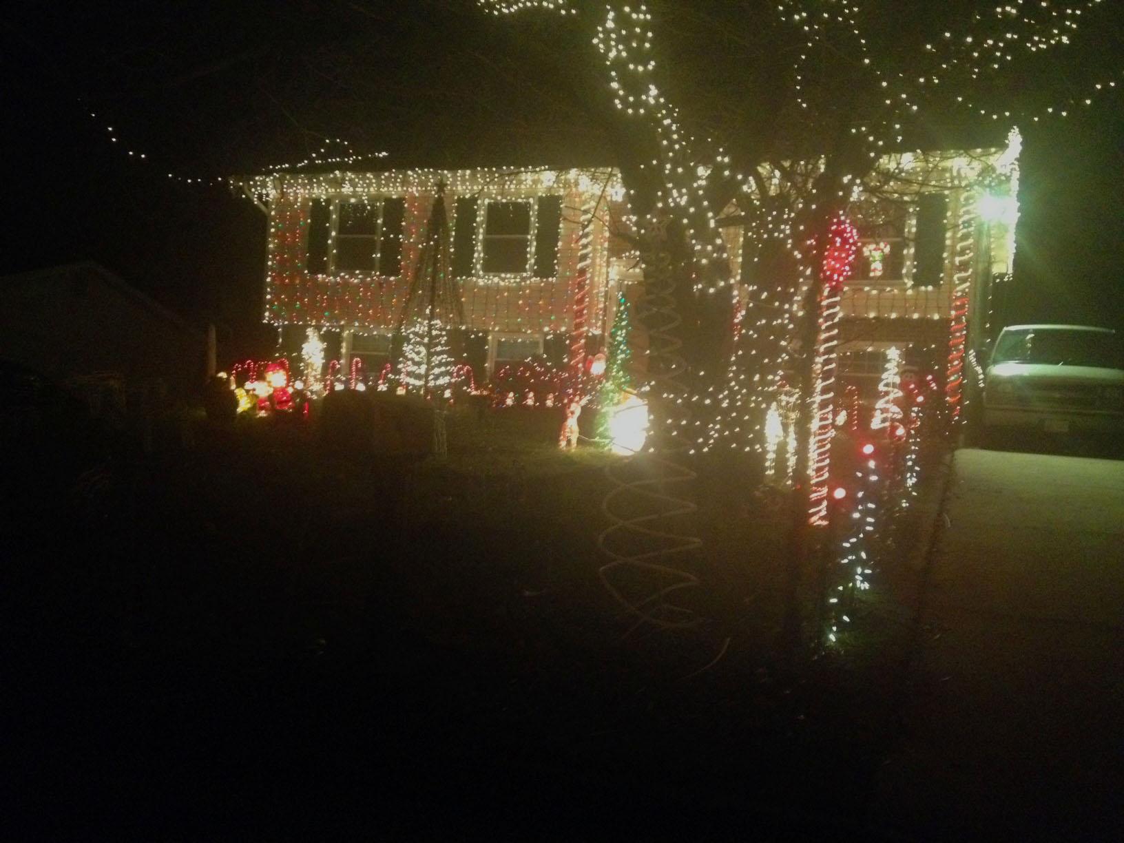 Christmas Lights on Juniper Street