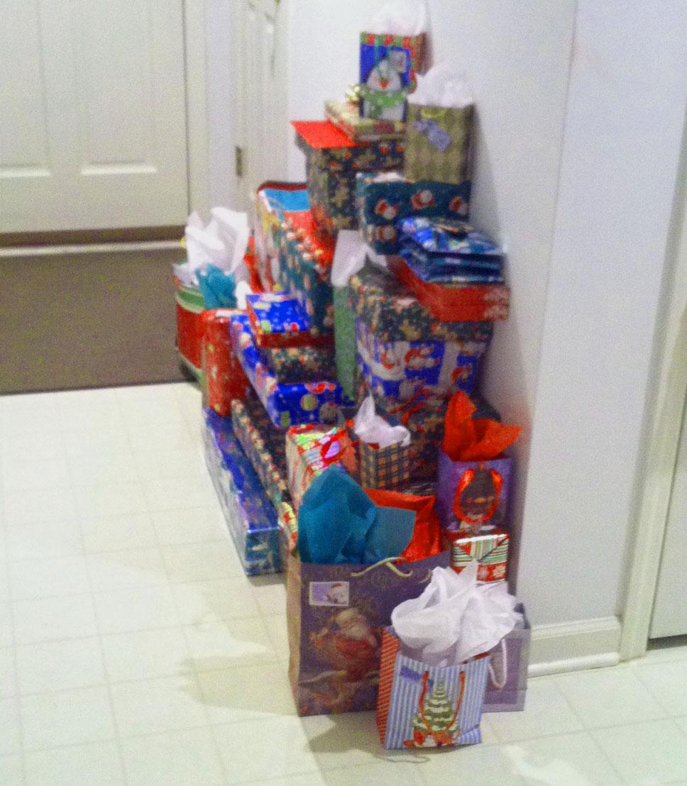 "Presents ""Decking the Halls"""