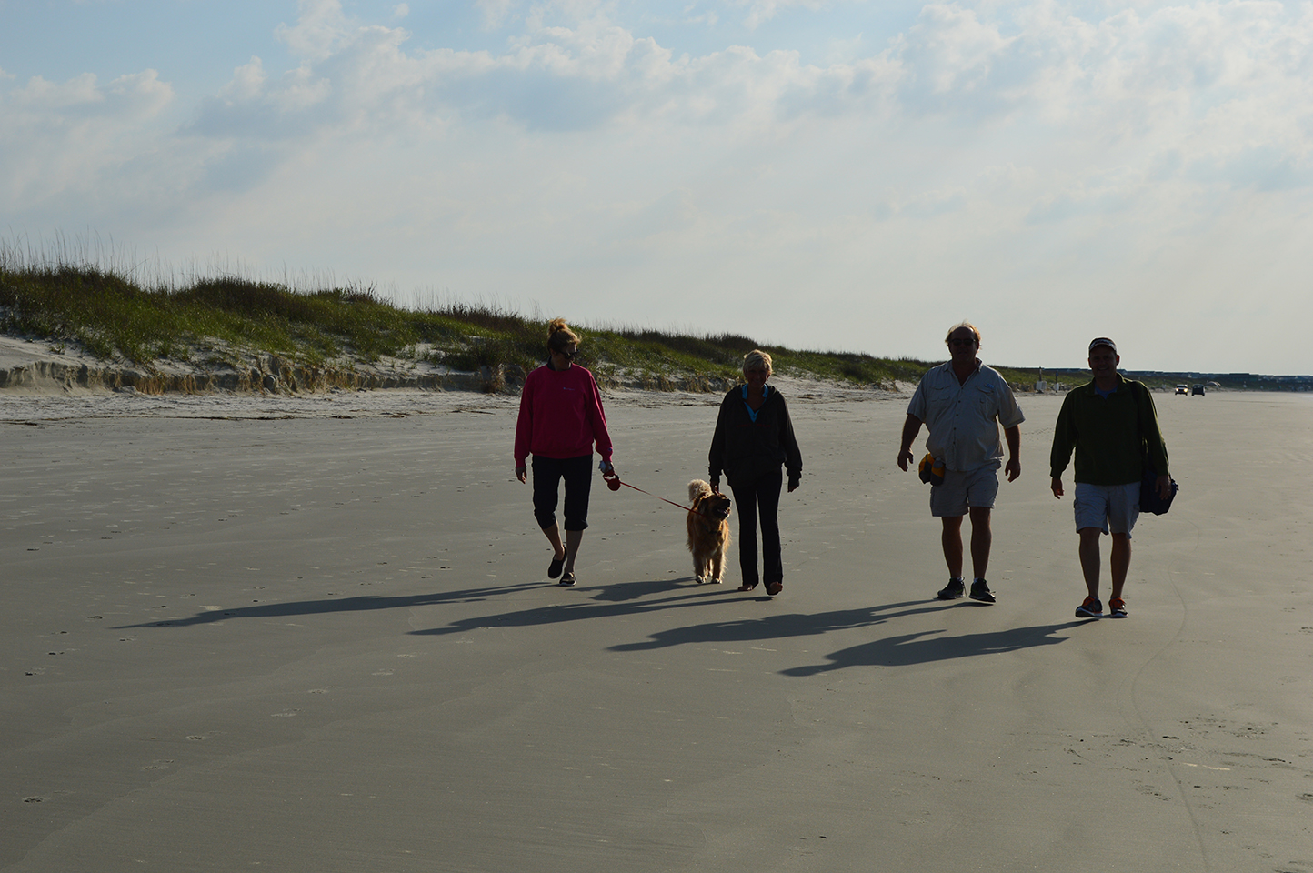 The Crew Walking Down