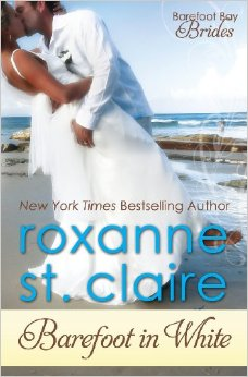 Roxanne St clair barefoot in white